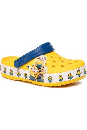 Crocs Klapki - Minions Multi 205512 Yellow