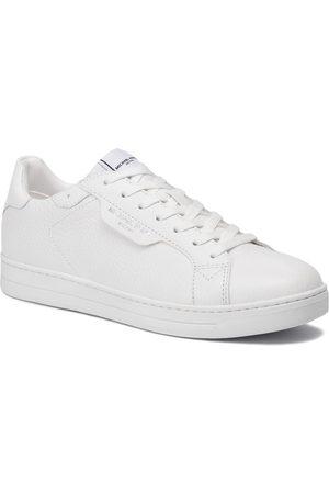 Michael Kors Mężczyzna Buty casual - Sneakersy - Keating 42F9KEFS1L Optic White