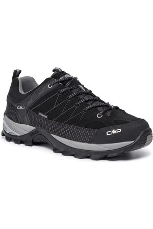 CMP Trekkingi - Rigel Low Trekking Shoes Wp 3Q13247 Nero/Grey 73UC