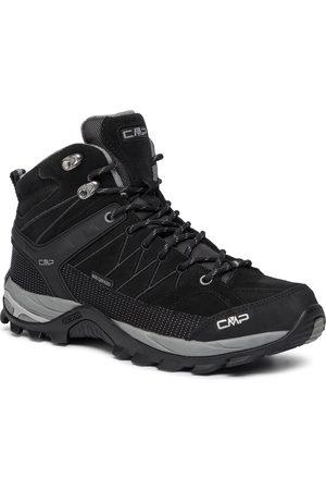 CMP Mężczyzna Buty trekkingowe - Trekkingi - Rigel Mid Trekking Shoes Wp 3Q12947 Nero/Grey 73UC