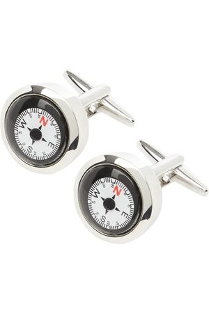 Lindenmann Spinki do mankietów z kompasem