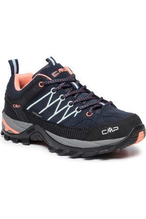 CMP Trekkingi - Rigel Low Wmn Trekking Shoes Wp 3Q13246 B.Blue/Giada/Peach 92AD