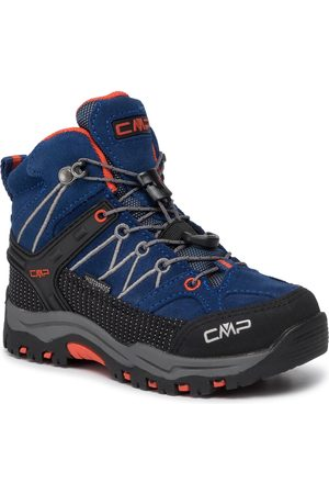 CMP Trekkingi - Kids Rigel Mid Trekking Shoes Wp 3Q12944 Marine/Tango 05MD