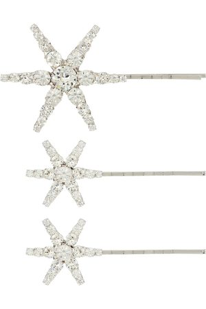 Jennifer Behr Aurelia set of embellished barrettes