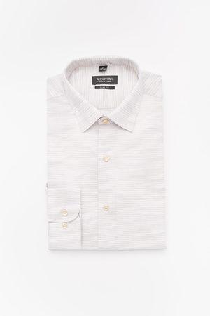 Recman Koszula versone 2911 długi rękaw slim fit beż