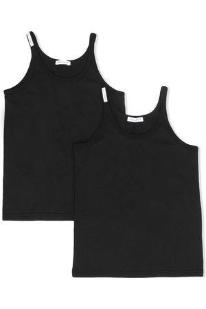 Dolce & Gabbana Chłopiec Tank topy - Black