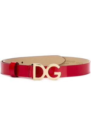 Dolce & Gabbana Dziewczynka Szelki - Red
