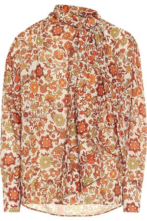 DODO BAR OR Floral crêpe blouse