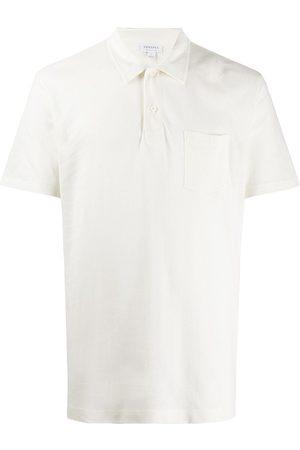 Sunspel Mężczyzna Koszulki polo - White