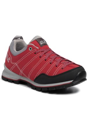 Jack Wolfskin Kobieta Buty trekkingowe - Trekkingi - Scrambler Low W 4036671 Red/Light Grey