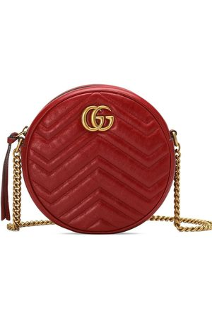 Gucci GG Marmont mini leather round shoulder bag