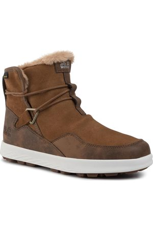 Jack Wolfskin Śniegowce - Auckland Wt Texapore Boot W 4035771-5215065 Desert Brown/White