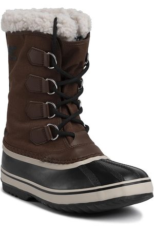 sorel Śniegowce - 1964 Pac Nylon NM3487 Tobacco/Black 256