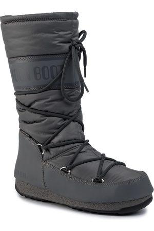 Moon Boot Kobieta Botki - Śniegowce - High Nylon Wp 240091006 Castlerock