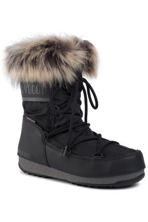 Moon Boot Kobieta Botki - Śniegowce - Monaco Low Wp 2 240088001 Black