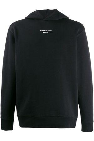 Drôle de Monsieur Mężczyzna Bluzy z kapturem - Black