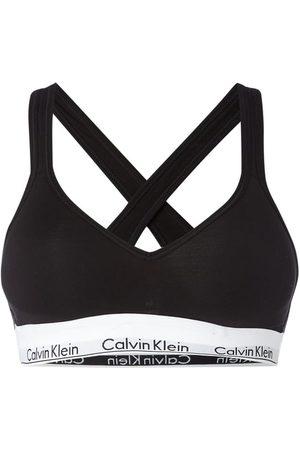 Calvin Klein Biustonosz typu bralette z paskiem z logo