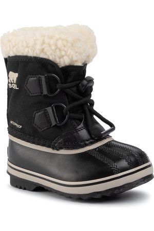 sorel Śniegowce - Childrens Yoot Pac Nylon NC1962 Black 010