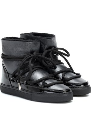 INUIKII Leather ankle boots