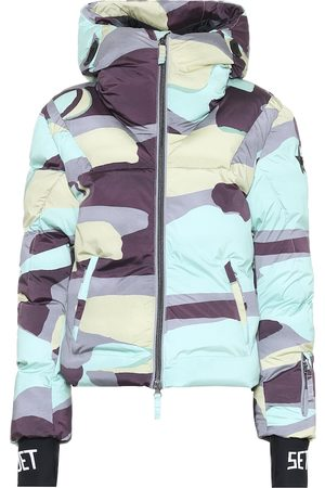 JET SET Julia camo padded ski jacket