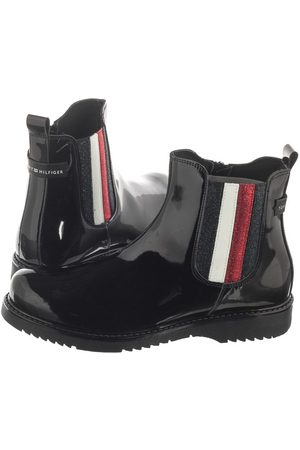 Tommy Hilfiger Botki Chelsea Boot T4A5-30450-0773 999 Black (TH66-a)