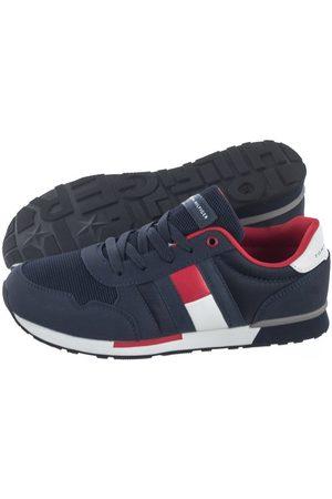 Tommy Hilfiger Buty Low Cut Lace-Up Sneaker T3B4-30482-0732 800 Blue (TH67-a)