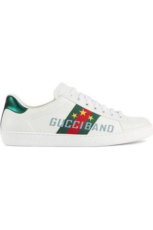 Gucci Mężczyzna Sneakersy - White