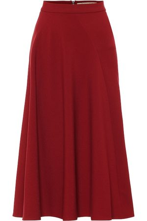 Roland Mouret Exclusive to Mytheresa – Offley crêpe midi skirt