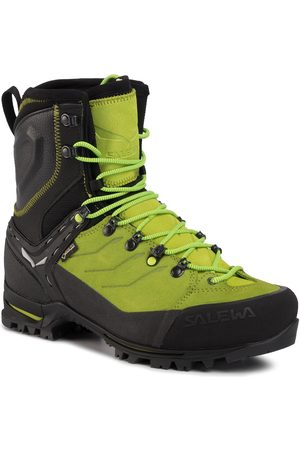Salewa Mężczyzna Buty trekkingowe - Trekkingi - Ms Vultur Evo Gtx GORE-TEX 61334 0916 Black/Cactus