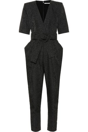 Stella McCartney Kobieta Kombinezony - Exclusive to Mytheresa – Leopard-jacquard jumpsuit