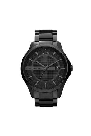 Armani Mężczyzna Zegarki - Zegarek - Hampton AX2104 Black/Black