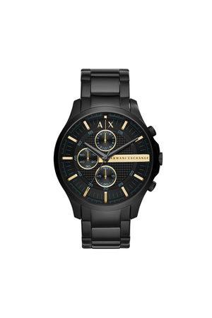 Armani Mężczyzna Zegarki - Zegarek - Hampton Chronograph AX2164 Black