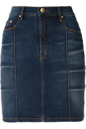 AMAPÔ Kobieta Spódnice jeansowe - Blue