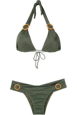 Brigitte Kobieta Bikini - Green