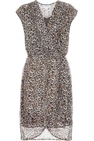 Velvet Regan leopard-print minidress