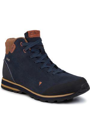 CMP Trekkingi - Elettra Mid Hiking Shoes Wp 38Q4597 Black Blue N950