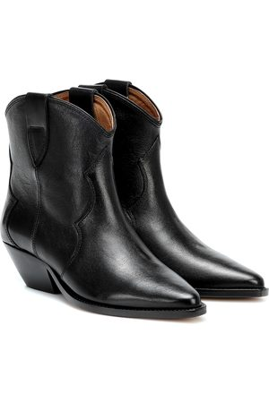 Isabel Marant Dewina leather ankle boots