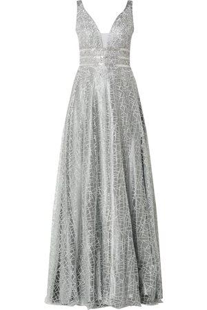 Luxuar Kobieta Sukienki koktajlowe i wieczorowe - Sukienka wieczorowa z błyszczącym efektem