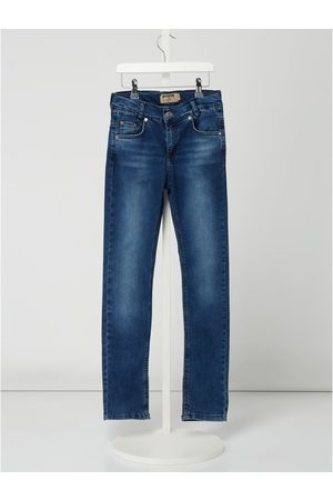 Blue Effect Chłopiec Rurki i Slim Fit - Jeansy w dekatyzowanym stylu o kroju slim fit