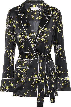 Dorothee Schumacher Cherry Blossom silk-satin blouse