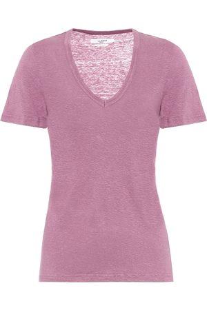 Isabel Marant Kobieta Z krótkim rękawem - Kranger linen T-shirt