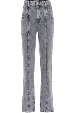 Isabel Marant Henoya high-rise straight jeans