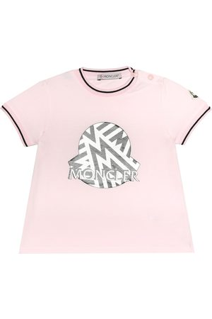 Moncler Baby stretch-jersey T-shirt