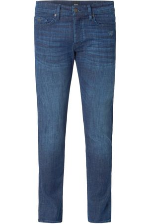 HUGO BOSS Jeansy w dekatyzowanym stylu o kroju tapered fit