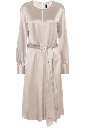 Joseph Kobieta Sukienki midi - Silk-satin midi dress