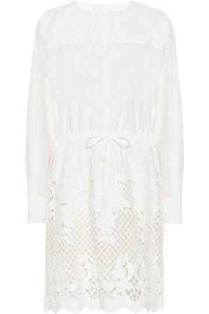 Chloé Kobieta Sukienki - Embroidered cotton minidress