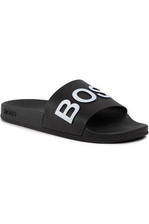 HUGO BOSS Klapki - Bay 50425152 10224455 01 Black 001