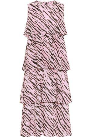 Baum und Pferdgarten Exclusive to Mytheresa – Aija tiger-print midi dress