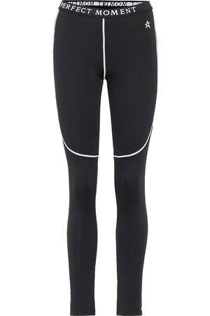 Perfect Moment High-rise thermal leggings