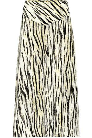 Baum und Pferdgarten Exclusive to Mytheresa – Senga tiger-print midi skirt